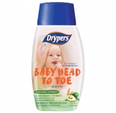 Drypers Baby Head To Toe