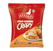 AYAMAS CRISPY FRIED CHICKEN 850G