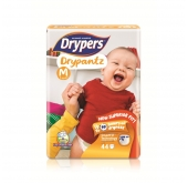 Drypantz Diapers (New Superior Fit) Up To 10 Hours Dryness - M (6 - 12 Kg)